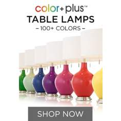 Hand-Crafted Glass Lamps in 100+ Designer Colors
