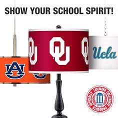 Lamps and Lighting with Officially Licensed College Logos