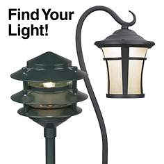 Landscape lighting solutions for gardens, pathways, patios and more!