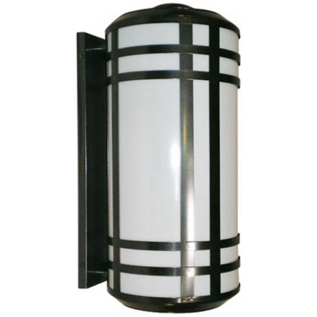 "Opal Acrylic Energy Efficient 25 1/2"" H Outdoor Wall Light"