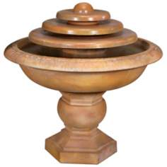 Henri Studios Barrington Triple Disc Fountain