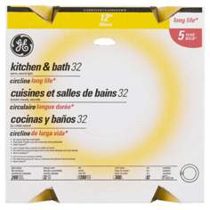 "GE Circle Fluorescent 12"" / 32 Watt Light Bulb"