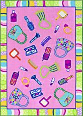 Girl Talk Area Rug
