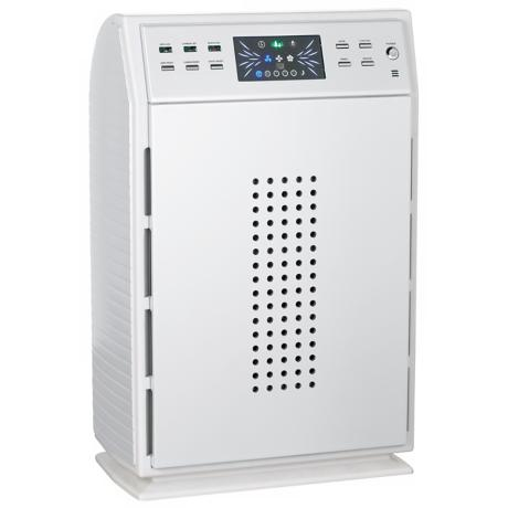 Kathy Ireland KI-4000 White Finish HEPA Filter Air Purifier