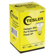Tesler PAR16 Halogen 60 Watt Narrow Flood-30 Light Bulb