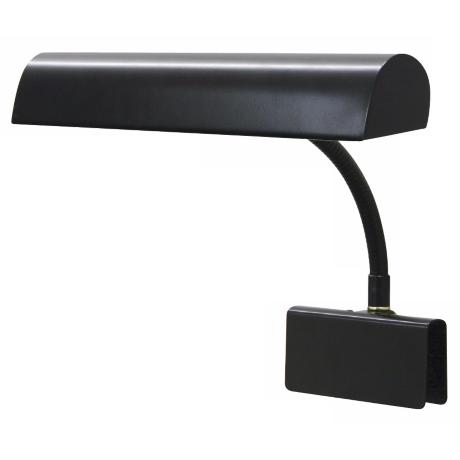 "House of Troy 14"" Wide Black Plug-in Grand Piano Lamp"