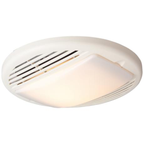 Tieber 50CFM White Premium Bathroom Exhaust Fan with Light
