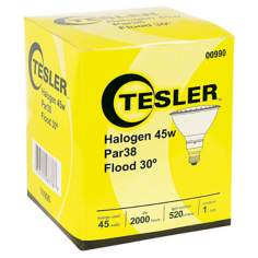 Tesler PAR38 Halogen 45 Watt Flood Light Bulb