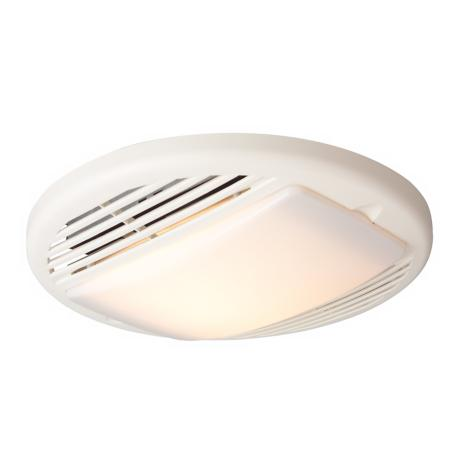 Tieber 70CFM White Premium Lighted Bathroom Exhaust Fan