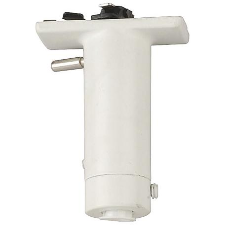 Lightolier White Finish Pendant Adaptor