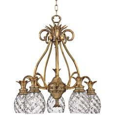 Hinkley Plantation Collection Five Light Chandelier