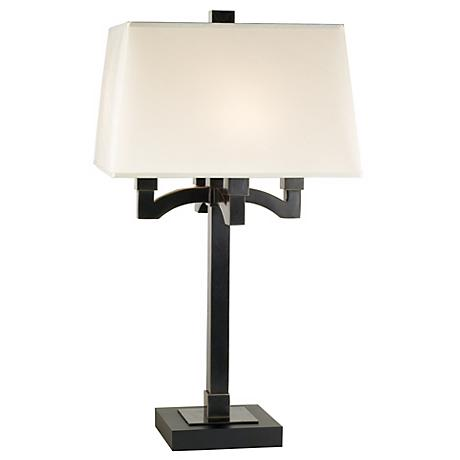 Robert Abbey Bronze 4-Arm Table Lamp