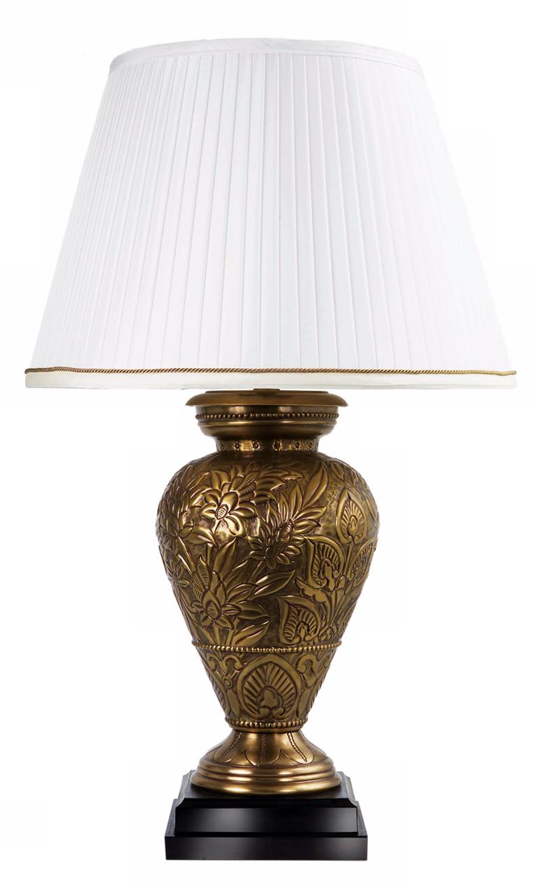 Frederick Cooper Dominea Repousse Blossoms Table Lamp (01337)