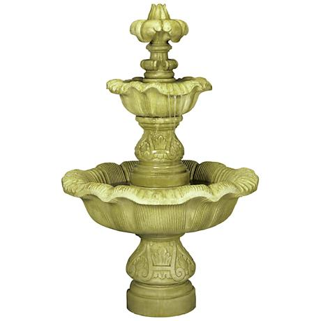 Henri Studio Two Tier Renaissance Fountain