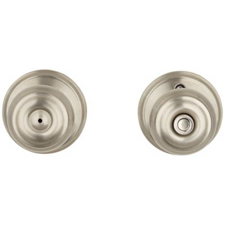Schlage Georgian Satin Nickel Privacy Door Knob