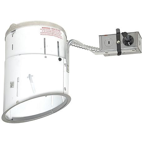 "Juno 6"" Line Voltage Sloped Remodel Recessed Light Housing"