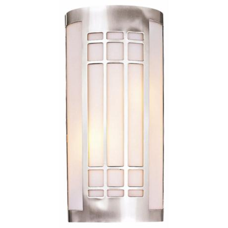 "Minka Lighting Grill 16"" High Wall Sconce"