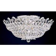 "Schonbek Trilliane Collection 24"" Wide Crystal Ceiling Light"