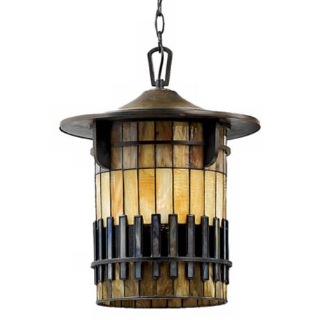 "Autumn Ridge 18 1/2"" High Hanging Outdoor Light"