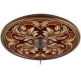 "Etruscan Wine 24"" Giclee Bronze Ceiling Medallion"