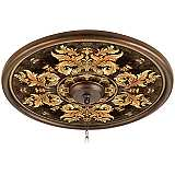 "King's Way 24"" Giclee Bronze Ceiling Medallion"