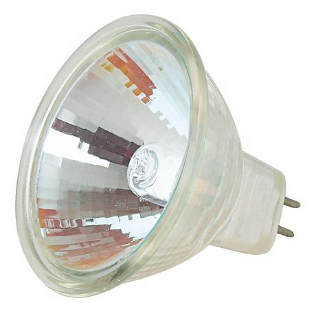 Tesler 35-Watt MR-16 12 Degree UV Filter Halogen Spotlight