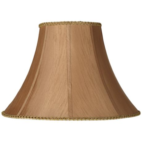 Earthen Gold Round Bell Lamp Shade 8x18x13 (Spider)