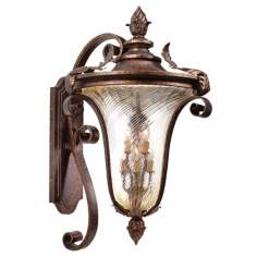 "Pirouette Collection 38 1/2"" High Outdoor Wall Light Fixture"