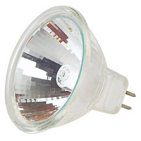 Tesler 50-Watt MR-16 10 Degree UV Filter Halogen Spotlight