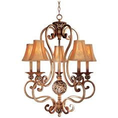 Jessica McClintock's Salon Grand Five Light Chandelier
