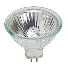 Tesler 50-Watt MR-16 40 Degree UV Filter Halogen Light bulb