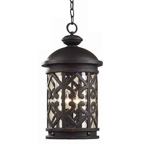 "Cambria 19"" High Hanging Outdoor Lantern"