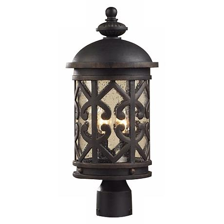 "Cambria 19"" High Post Light"