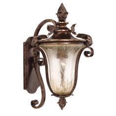 "Pirouette Collection 19 1/2"" High Outdoor Wall Light"