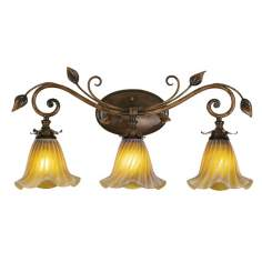 "Eden Park Collection 25 1/2"" Wide Bathroom Light Fixture"