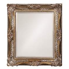 "Charlotte Bronze  34"" High Wall Mirror"