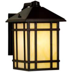 "Kathy Ireland Mission Hills 11"" High LED Outdoor Wall Light"