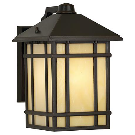"Kathy Ireland Mission Hills 11"" High Outdoor Wall Light"