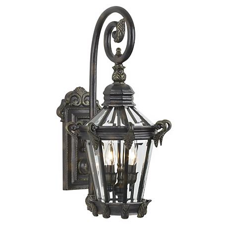 "Stratford Hall Collection 25 1/4"" High Outdoor Wall Light"