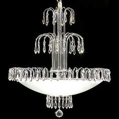 James R. Moder Ballet Collection Eight Light Chandelier