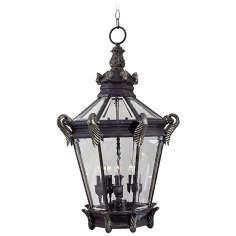 "Stratford Hall Collection 30"" High Outdoor Hanging Lantern"