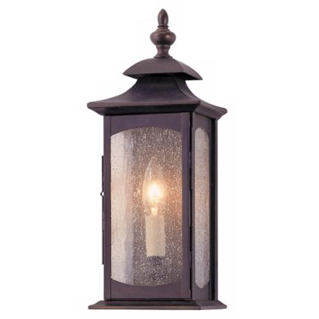 "Murray Feiss Market Square 14"" High Outdoor Wall Light"