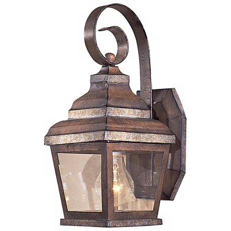"Mossoro Collection 14 1/4"" High Outdoor Wall Light"