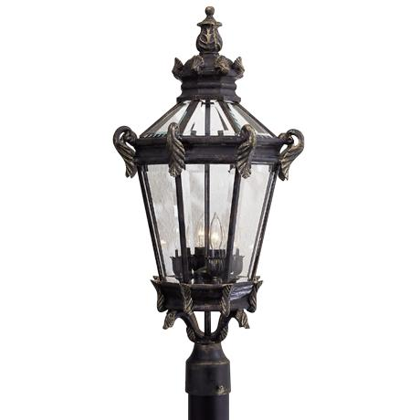 "Stratford Hall Collection 28"" High Post Mount"