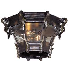 "Stratford Hall 13 1/4"" Wide Indoor - Outdoor Ceiling Light"