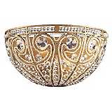 "Elizabethan Collection Antique Gold 13"" Wide Pocket Sconce"