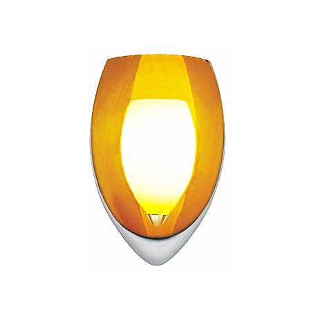 Amber Fire Wall Sconce