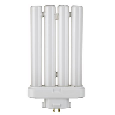 Four Tube 27 Watt 6400K 4-Pin Base Light Bulb