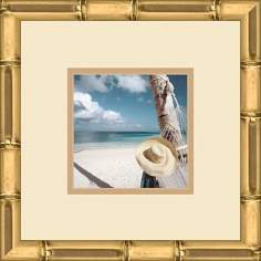 "Paradise Cove A 13"" Square Wall Art"