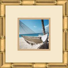 "Paradise Cove B 13"" Square Wall Art"